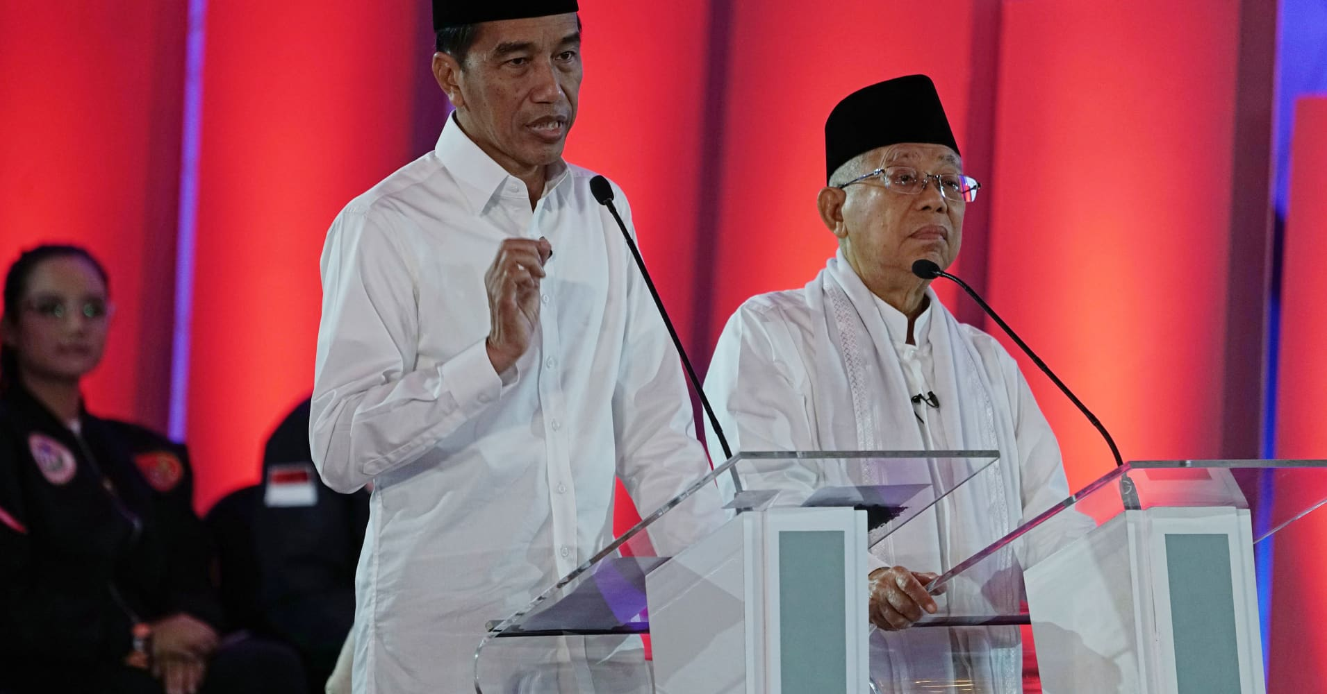 Religion and economy will take center stage as Indonesia's president seeks re-election, experts say