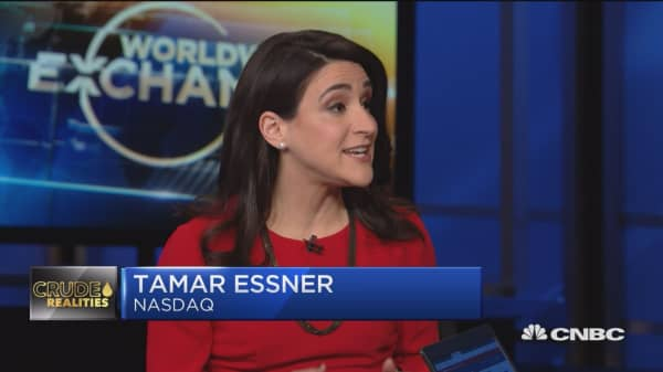 Tamar Essner discusses the oil market