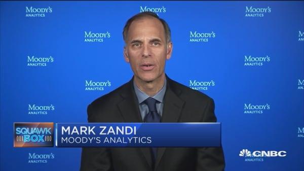 Zandi: If shutdown continues, unemployment will start to rise