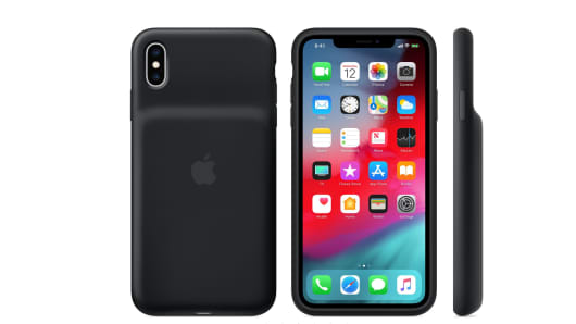 The smart battery case for iPhone XS Max
