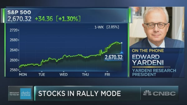 Market's win streak is no fluke, Wall Street bull Ed Yardeni sees record gains ahead