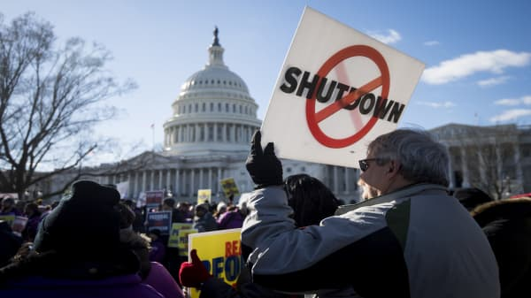 The government shutdown faces mounting lawsuits, including over 'involuntary servitude'
