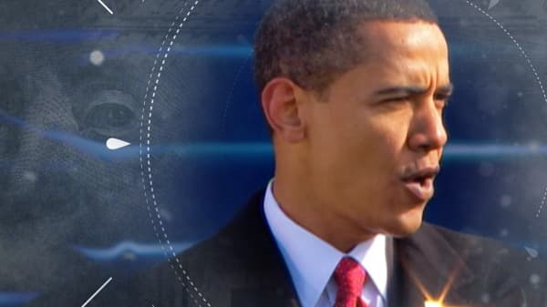 Barack Obama became president at a dark time in America's economy. Watch CNBC's coverage
