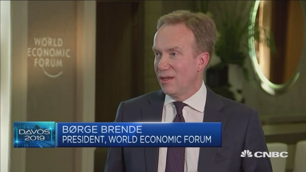 WEF President: We're all in the same boat in globalised world