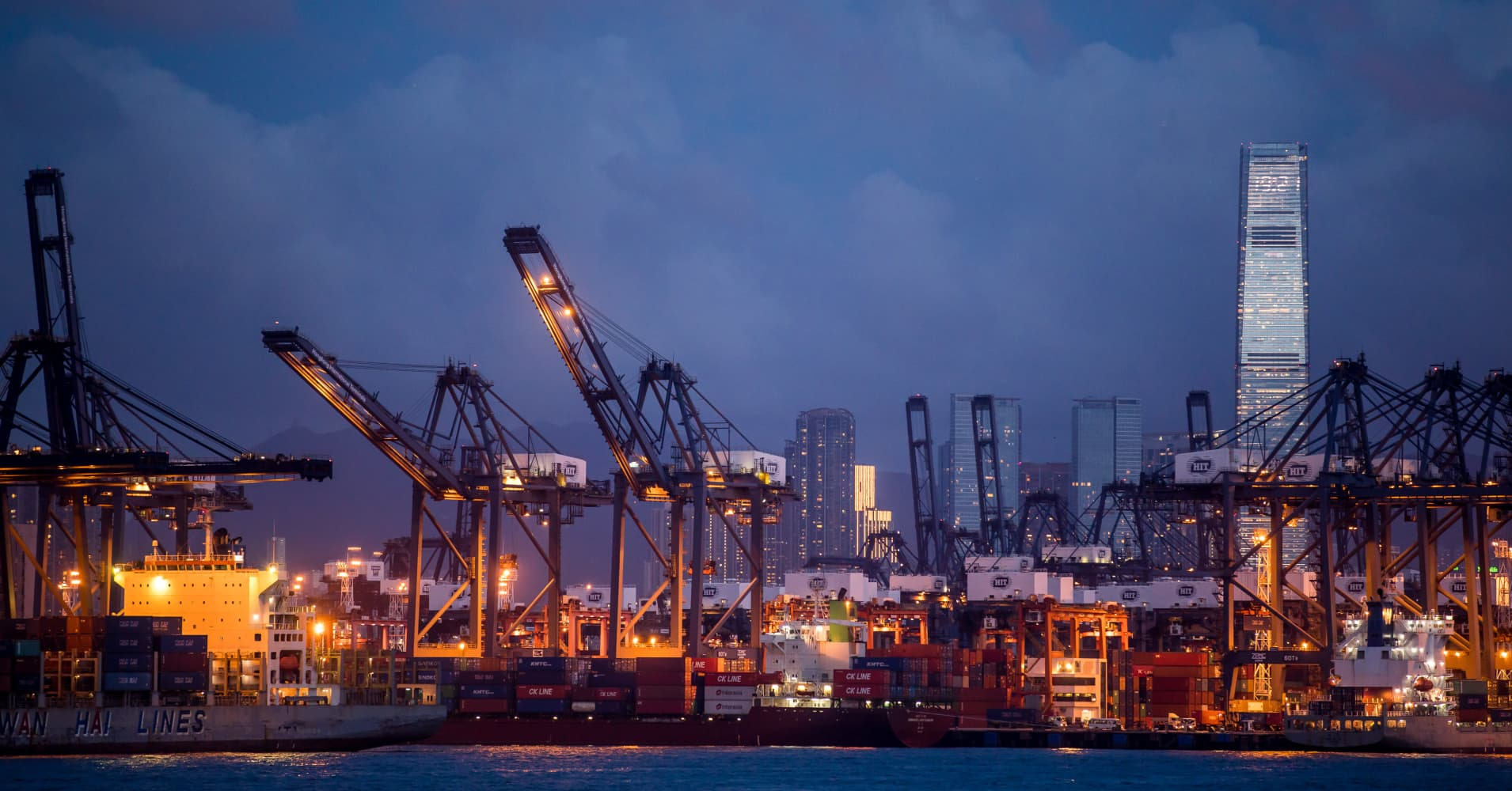 Hong Kong's port has fallen behind rivals. Industry experts say it needs to be more competitive