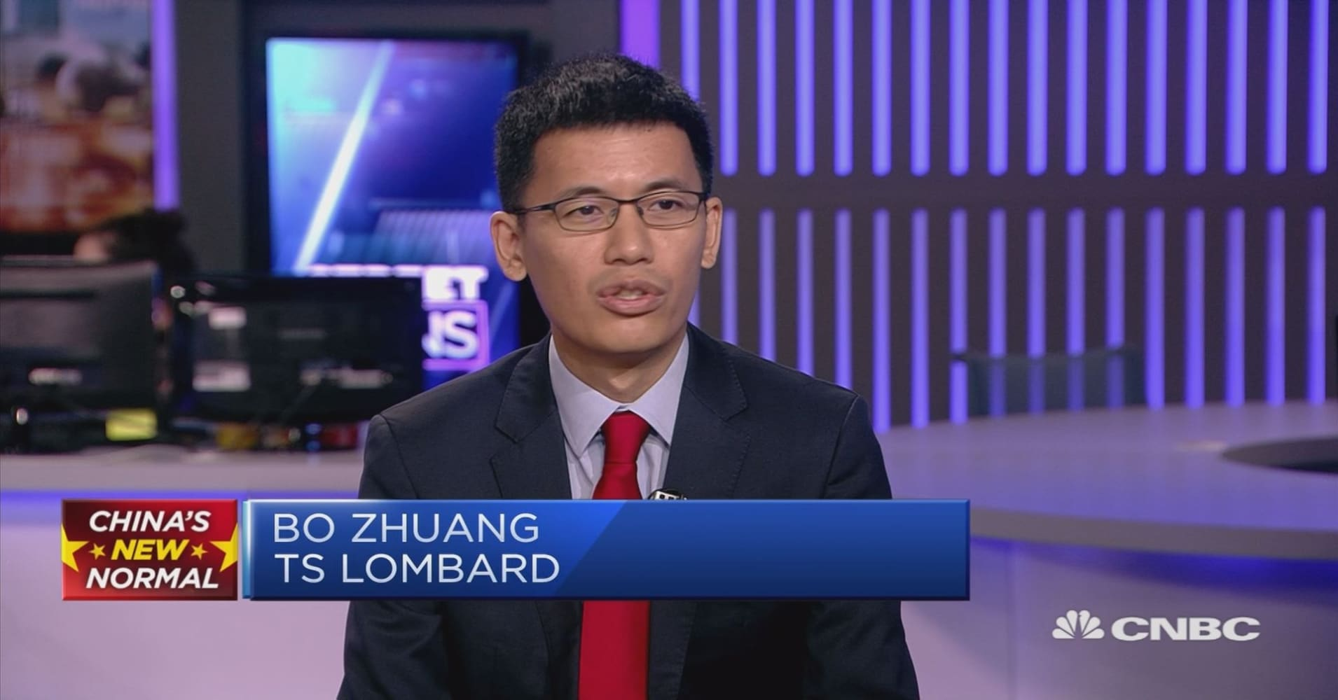 Chinese economic slowdown due to domestic issues — not trade war, strategist says