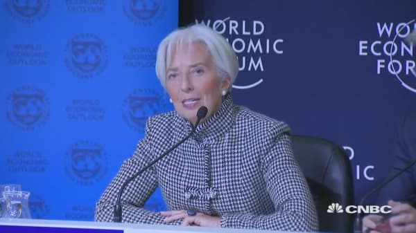 Address vulnerabilities and be ready for a serious economic slowdown, IMF's Lagarde urges policymakers