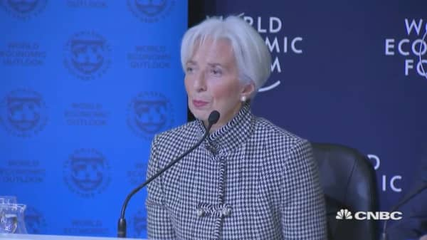 Policies must encourage collaboration to address global risks, IMF's Lagarde says