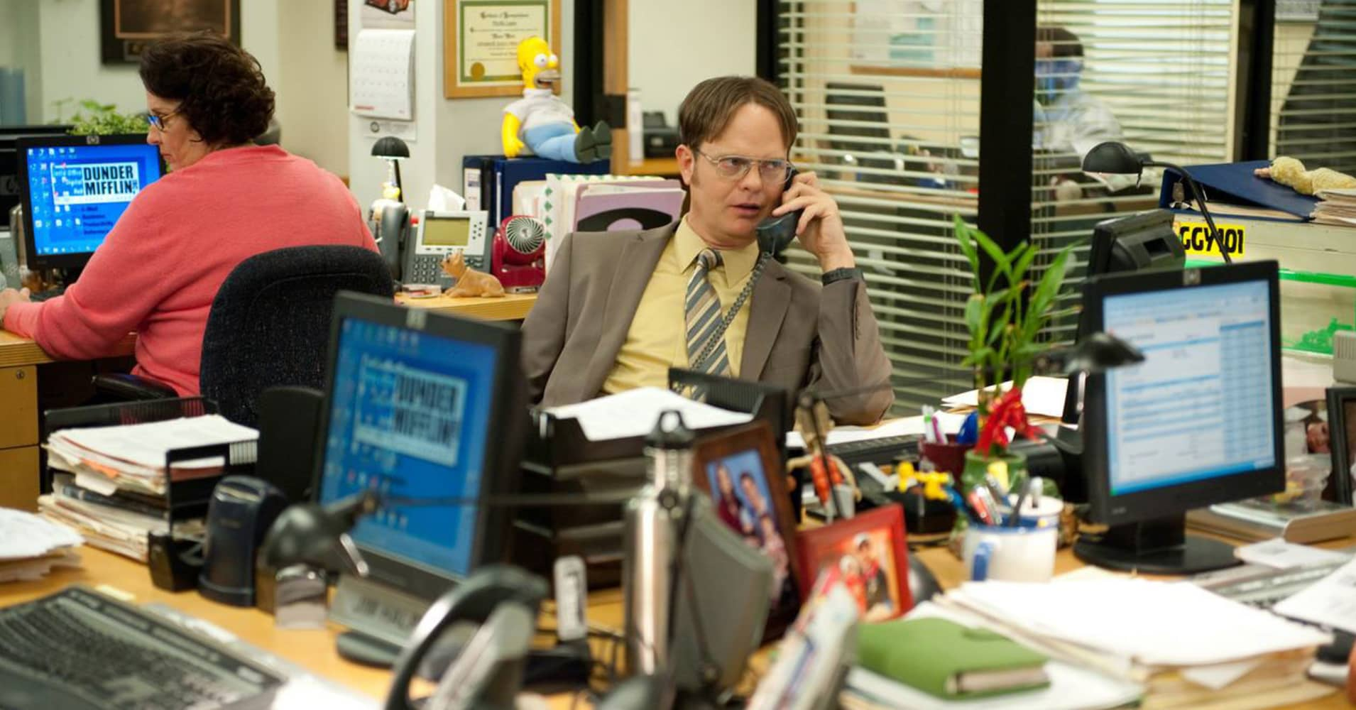 """A still photo from """"The Office"""""""