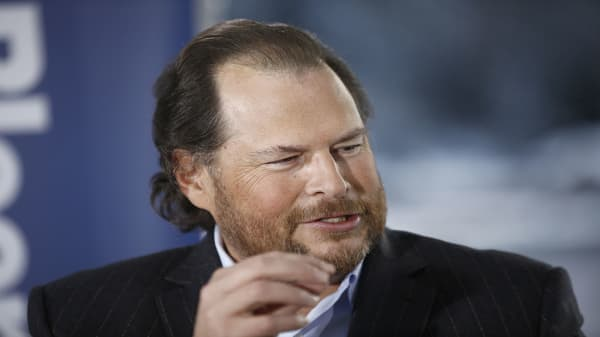 Marc Benioff says San Francisco is still a gender inequality 'train wreck'