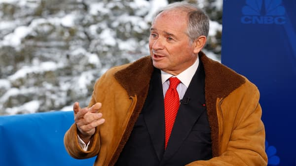 Watch CNBC's full interview with Blackstone CEO Steve Schwarzman at Davos