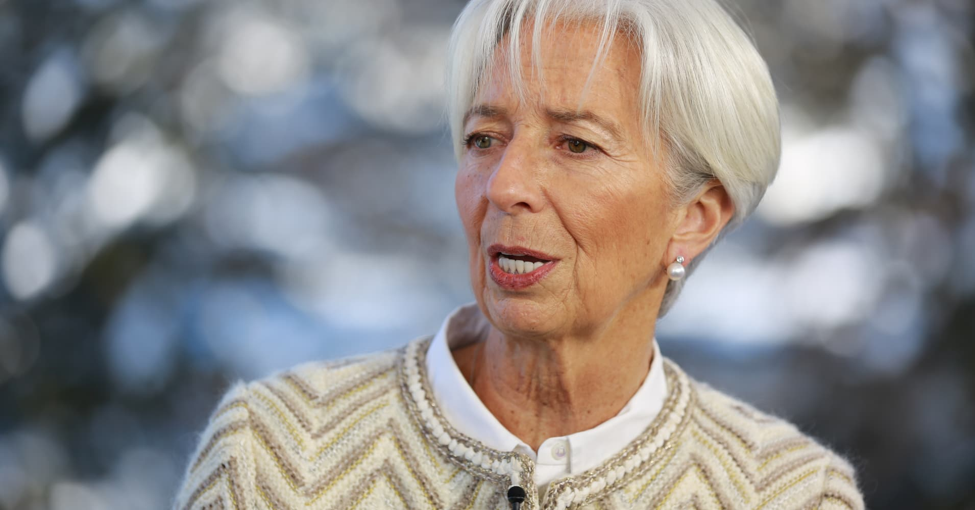 IMF Chair Christine Lagarde cuts global growth forecast for 2019 to 3.5 percent