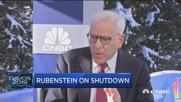 Billionaire investor David Rubenstein says the US-China trade talk will resolve in a few months
