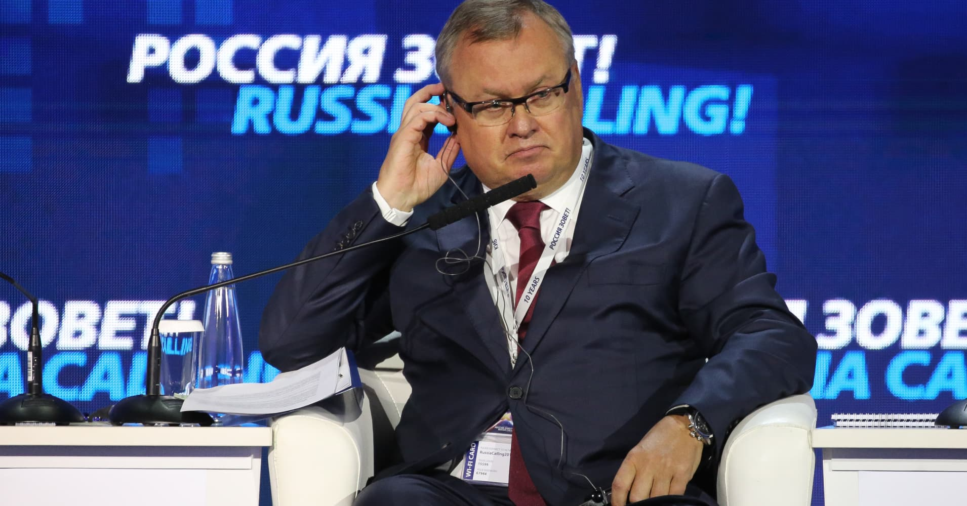 After Mueller findings, US-Russian relations can hopefully 'start again,' VTB's Kostin says
