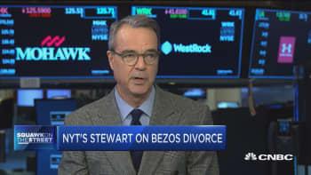 Bezos divorce could 'radically change' company, says NYT columnist