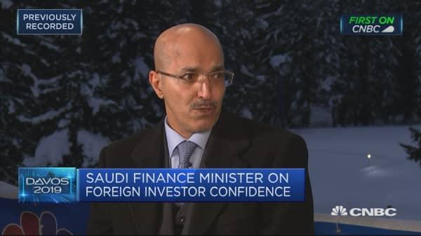 Slowdown in China won't severely impact Saudi oil, Saudi Arabian finance minister says