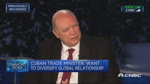 Cuba-U.S. relationship has backtracked under Trump, Cuban minister says