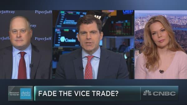 Vice trade fizzles as casino, tobacco stocks slump