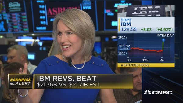IBM beats earnings, sets higher than expected 2019 guidance