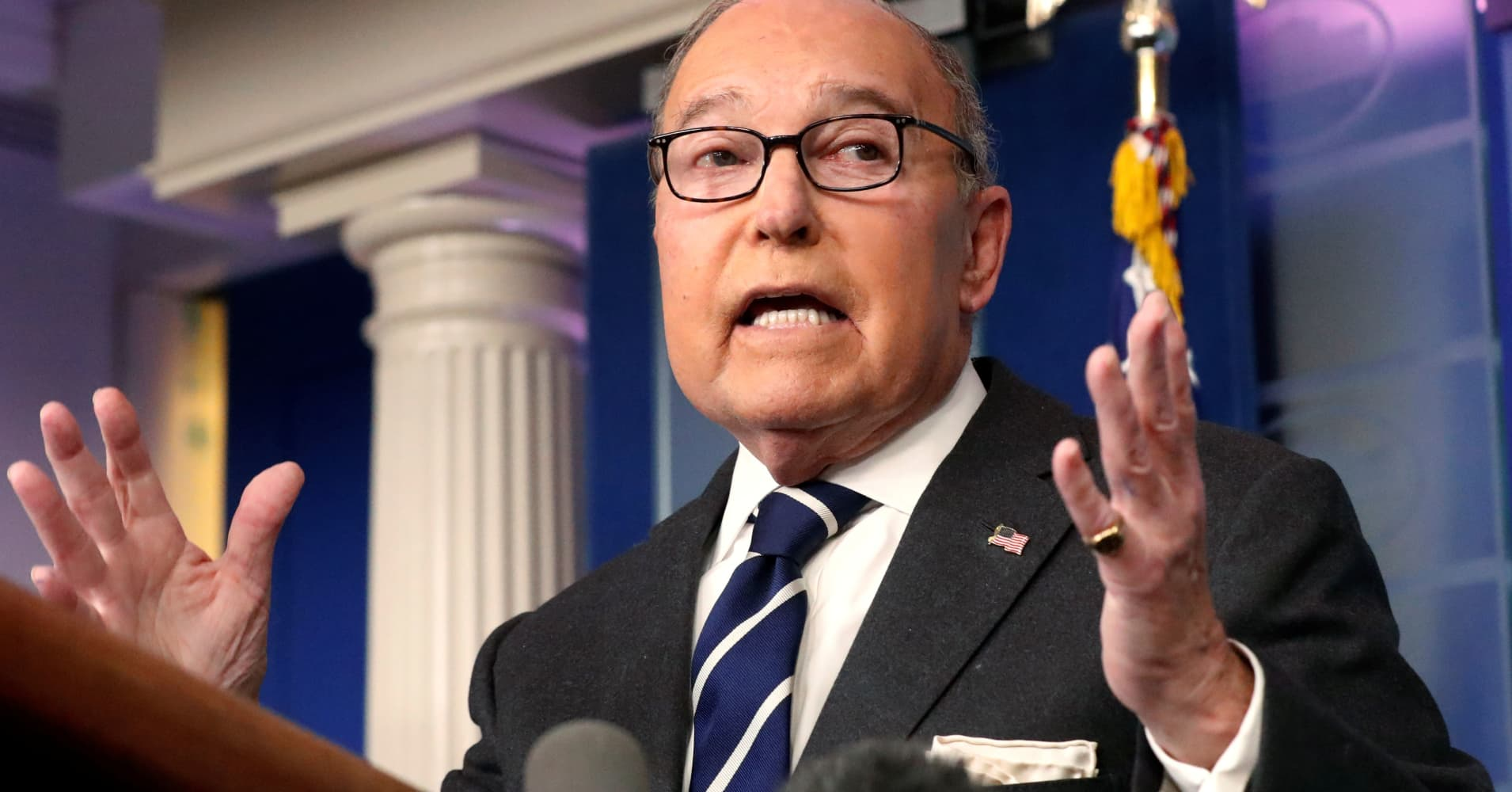 Trump advisor Larry Kudlow: GDP damage from government shutdown is temporary
