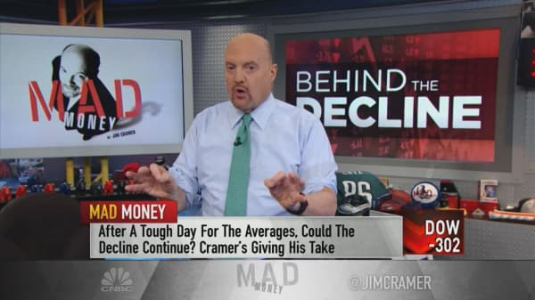 Cramer warns, 'careful about how much you sell' at these levels