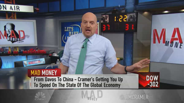 Slowing China growth improves chance of 'advantageous' trade deal: Jim Cramer