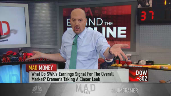 'Be careful about how much you sell' at these levels, warns Jim Cramer