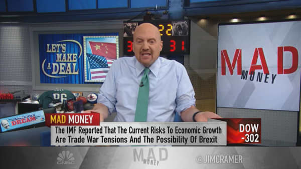 China's slowing growth improves the chances for an 'advantageous' trade deal: Jim Cramer
