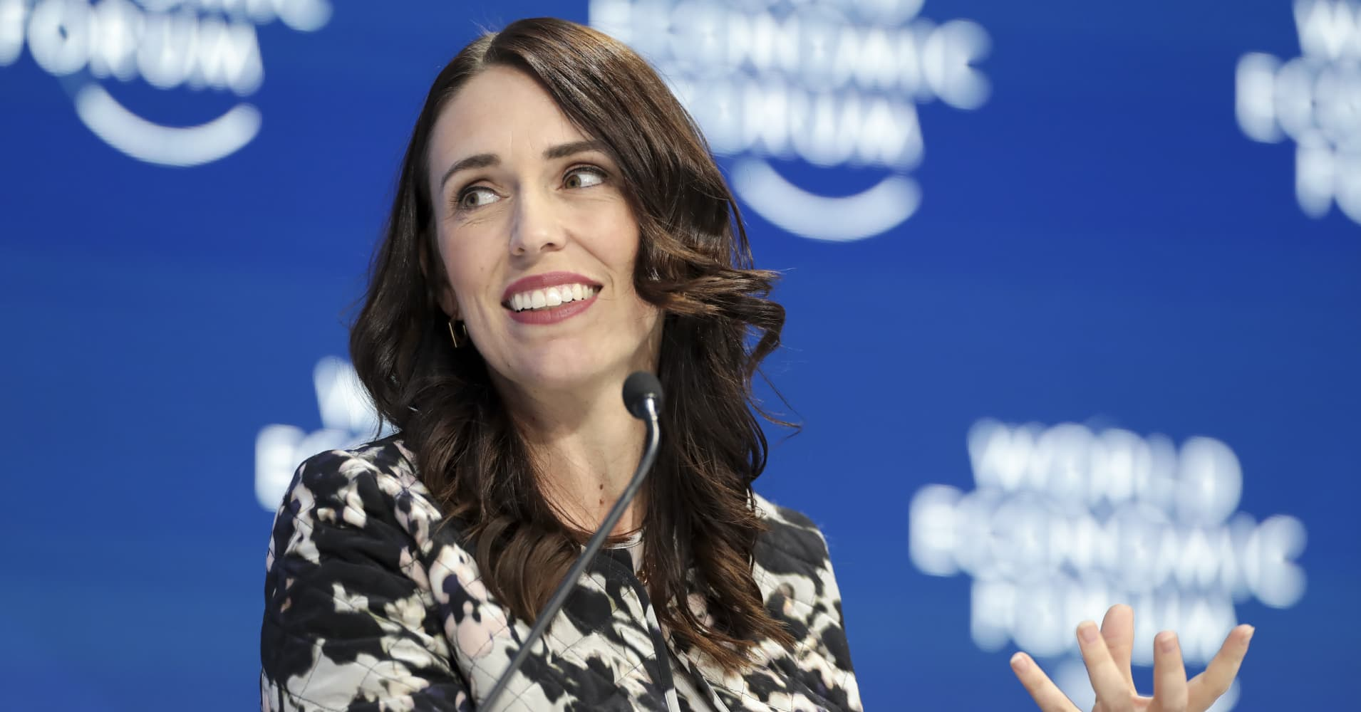 Climate Change New Zealand Prime Minister Jacinda Ardern Warns Leaders