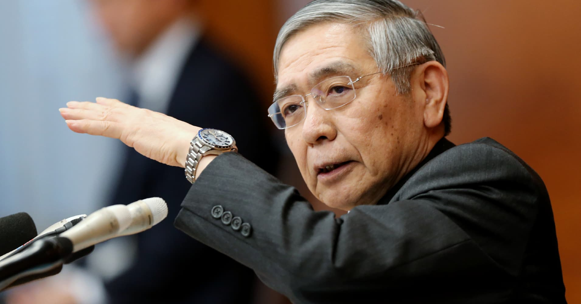 Bank of Japan chief: Trade is the biggest risk to the global economy