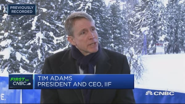We are 'worst prepared' for a crisis in the post-war era, IIF CEO says