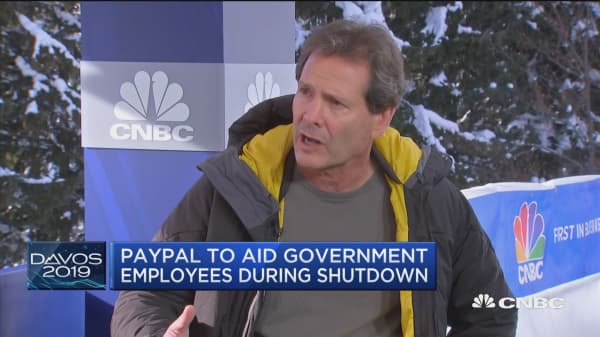 Here's how PayPal is helping government workers affected by the shutdown