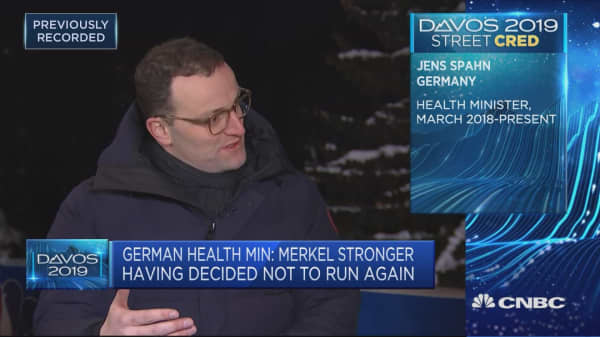 Germany promoting European projects to compete with US and China, health minister says