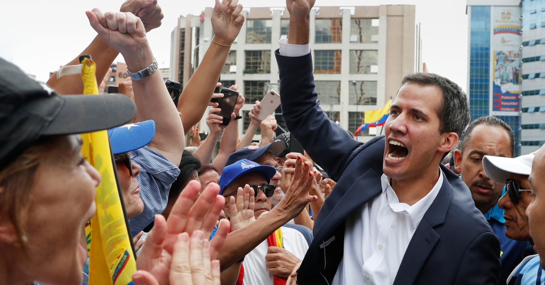 US-backed Venezuelan opposition leader Guaido will name a new Citgo board, Sen. Rubio tells the WSJ