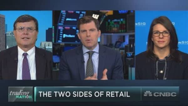 Walmart and Macy's show off two sides of retail in wildly different months