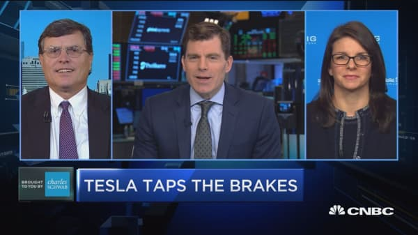 Tesla's flow is cautiously pessimistic, says strategist