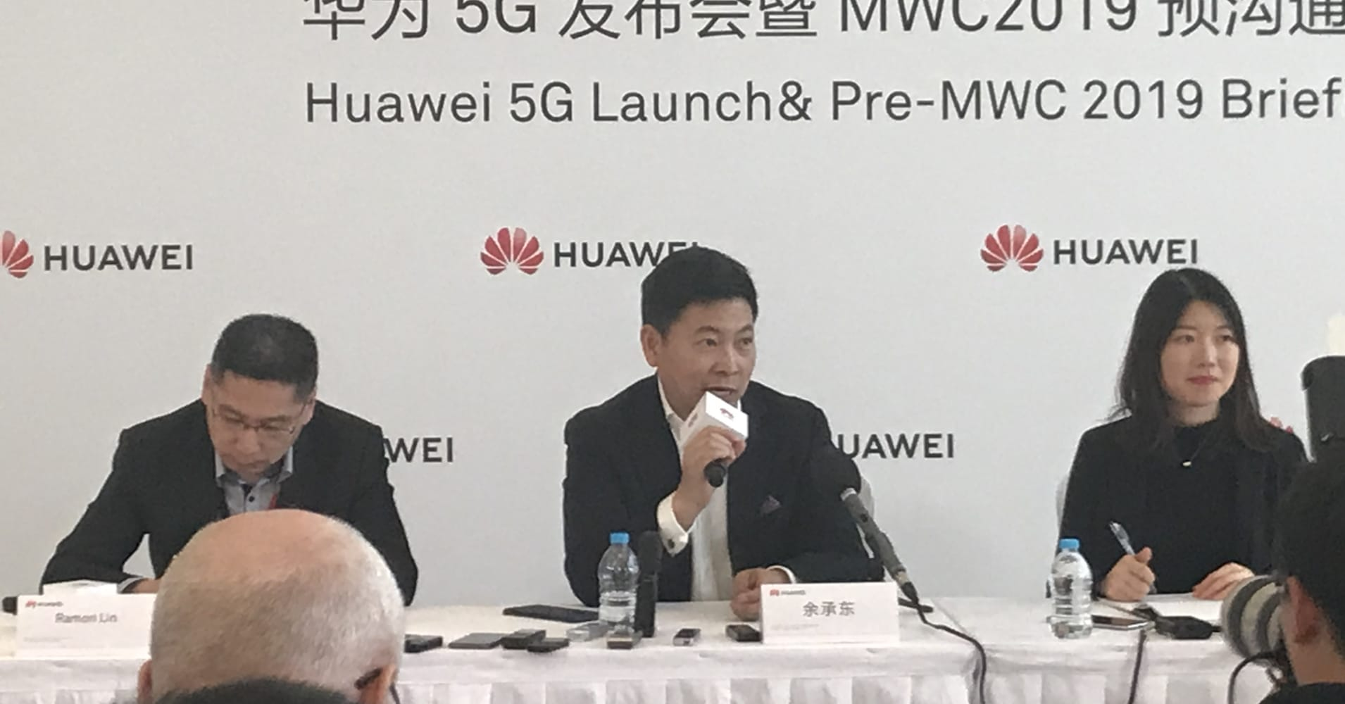 Huawei exec: 'Some political guys' are trying to drag down business, but we're still confident