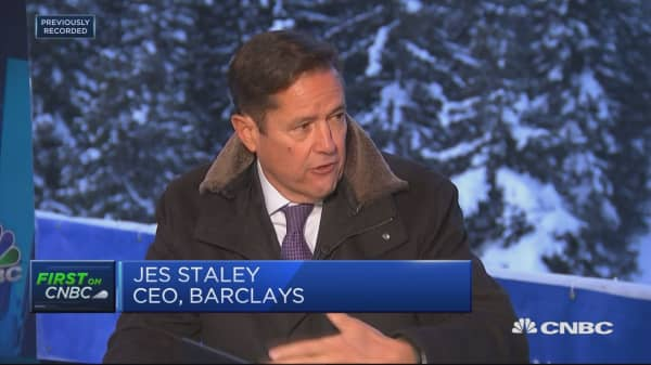 Barclays CEO: We'll see a return to a normal volatility this year