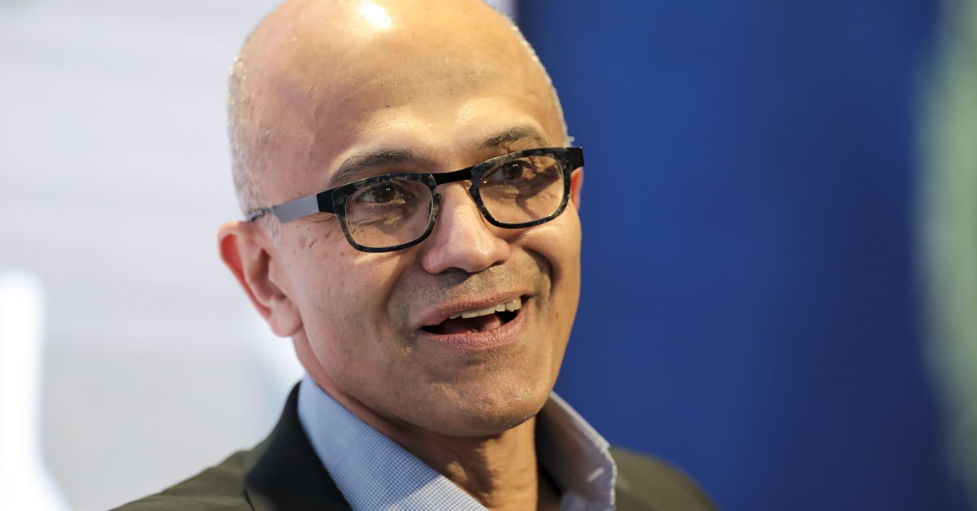 Davos: Microsoft's Nadella says facial recognition needs regulation