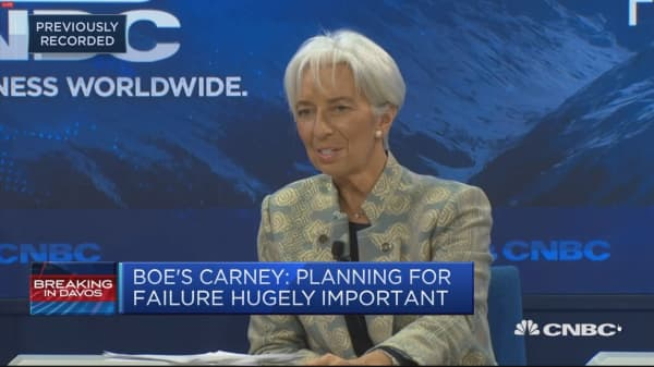 Fintech is going to shake the system, Christine Lagarde says