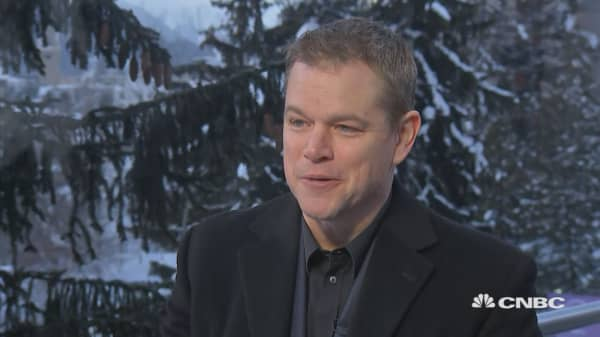 Matt Damon speaks out on impact investing for clean water