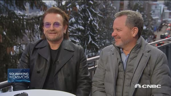 Bono: We need public and private funds to fight poverty