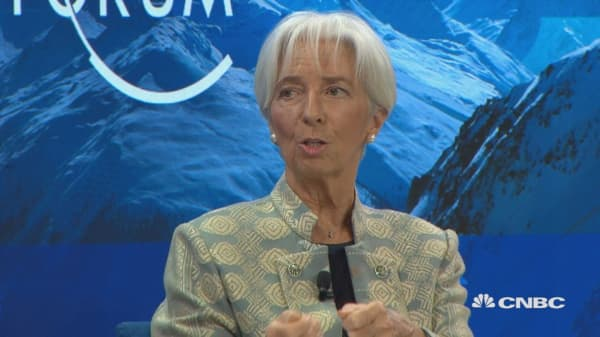 Christine Lagarde: The Chinese economy slowing down is legitimate