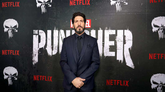 Jon Bernthal attends 'Marvel's The Punisher' Season 2 Premiere at ArcLight Hollywood on January 14, 2019 in Hollywood, California.