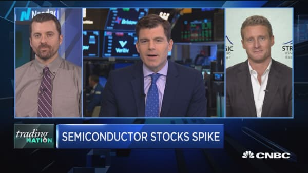 Trading Nation: Is the semiconductors spike just starting?