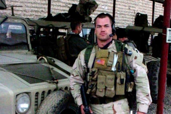 Jocko Willink, retired U.S Navy SEAL.