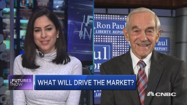 Trade talks and the Fed are a big threat to this market: Ron Paul