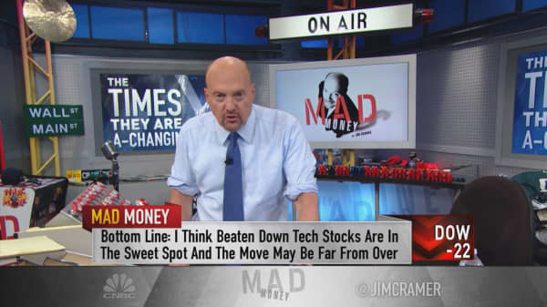 Cramer: Not too late to take advantage of market rotation