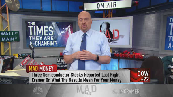 It's not too late for investors to take advantage of the market rotation, says Jim Cramer
