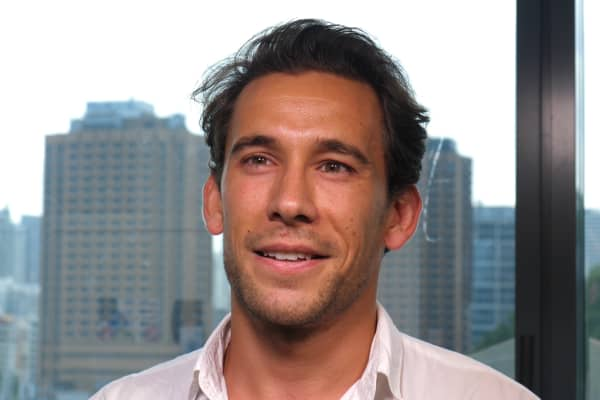 Guillaume Castagne, co-founder and CEO of Cove Living.